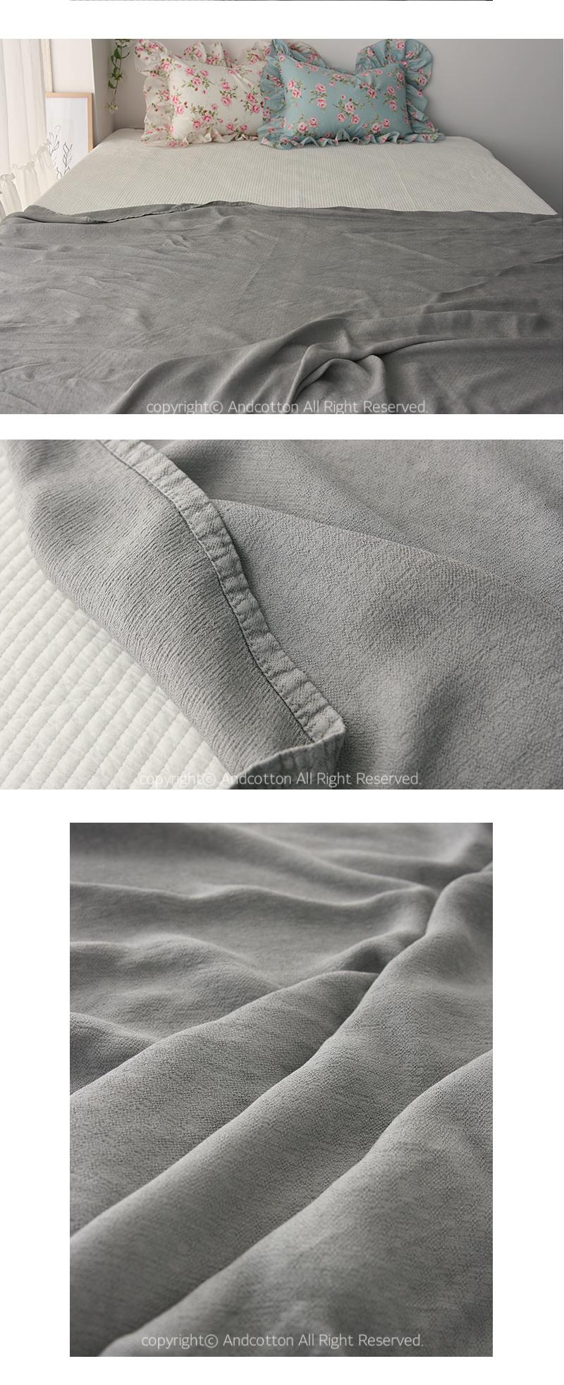 파스텔 피톤치드 풍기인견 홑이불 - 앤코튼1, 30,000원, 담요/블랑켓, 무지/솔리드